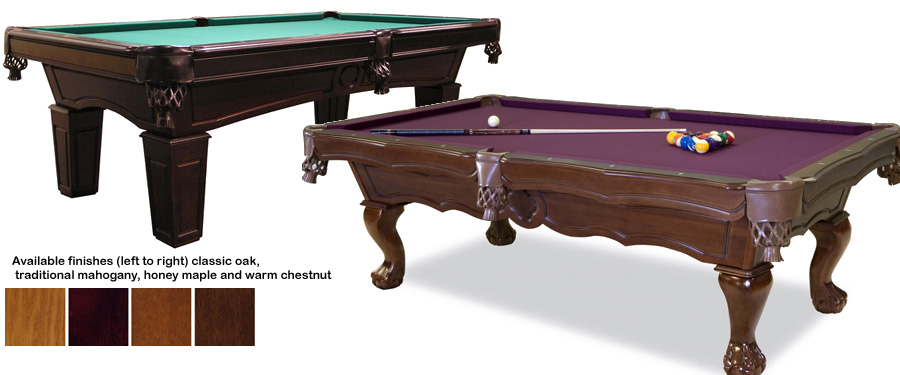 Meucci Cues - American pool table company